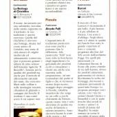 """L'Italia del Gambero Rosso - Toscana Editore Il Sole 24 Ore, 2007 Sezione """"Le botteghe del gusto"""""""